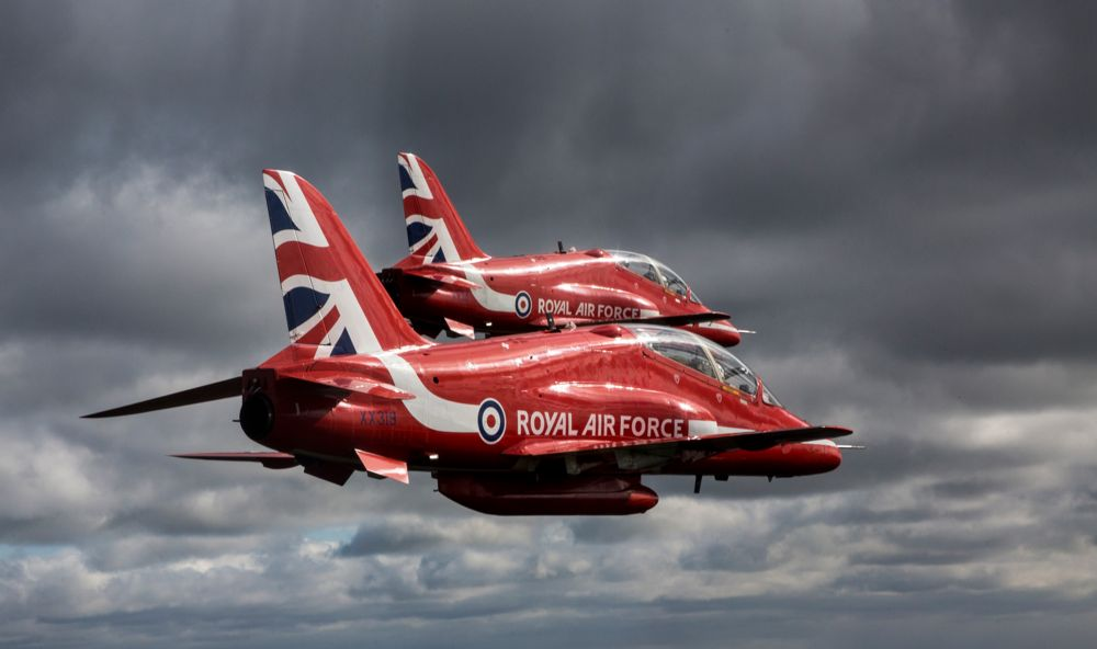 Red Arrows Planes