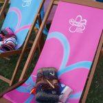 Alzheimers Society deckchairs