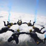Tigers parachute team