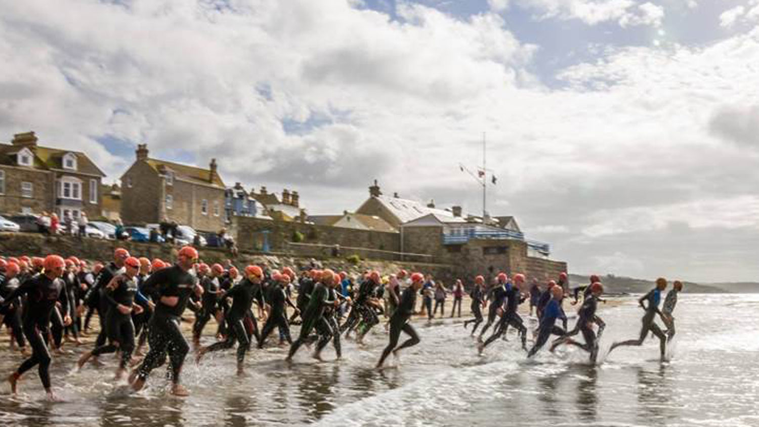RNLI swimmers