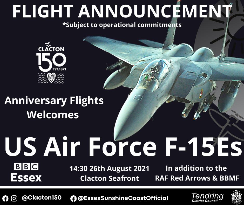 F-15 Flypast